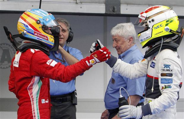 Alonso és Perez