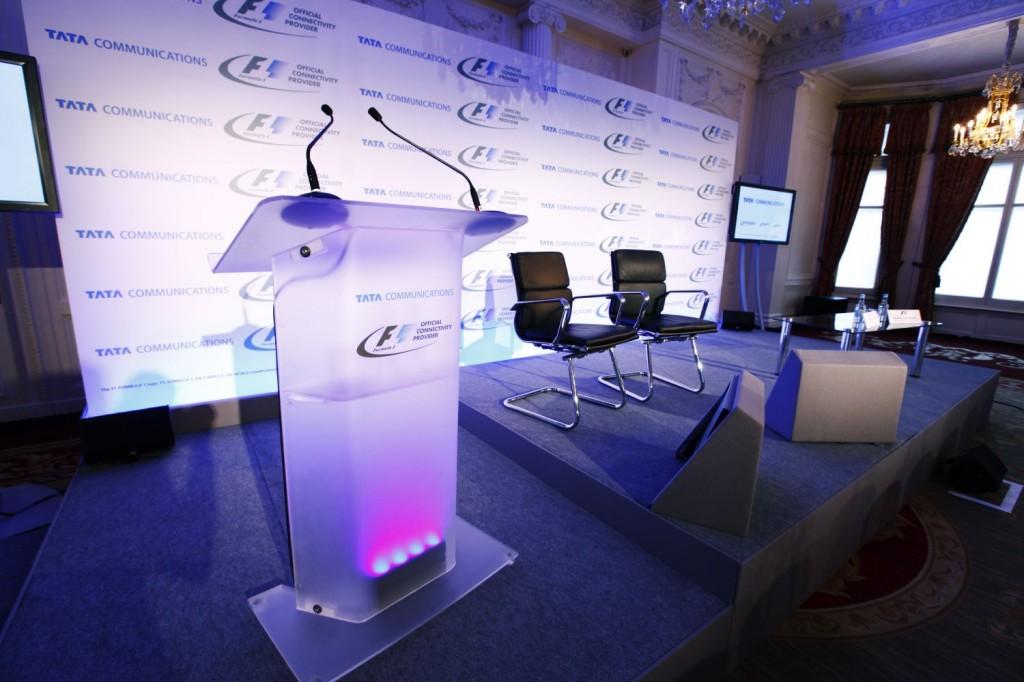 TATA Communications és Formula One Management sajtótájékoztató