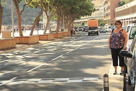 Monacói célegyenes